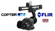 Picture of 2 Axis Flir Tau 2 Stabilized Gimbal