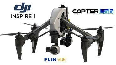 2 Axis Flir Vue Stabilized Gimbal For DJI Inspire 1