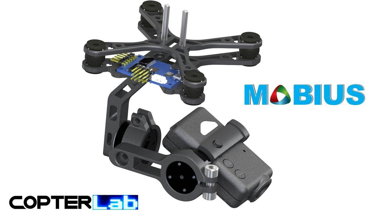 Mobius Gimbal 85 Grams Mobius Gimbal 2 Axis Brushless