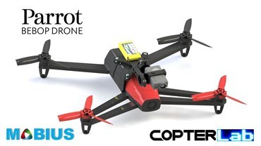 2 Axis Mobius Stabilized Gimbal for Parrot Bebop 1