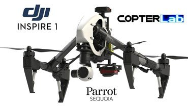 Parrot Sequoia Fixed Gimbal For DJI Inspire 1