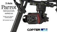 3 Axis Parrot Sequoia Stabilized Gimbal For DJI Matrice 600 Pro