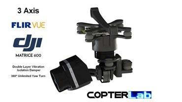 3 Axis Flir Vue Micro Gimbal for DJI Matrice 600 M600 pro