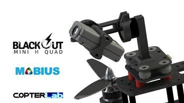 2 Axis Mobius Nano Gimbal for Blackout Mini H