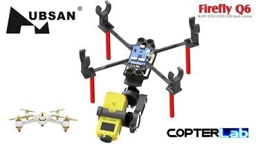2 Axis Nano Gimbal Firefly Q6 Camera for Hubsan FPV X4 H501S