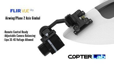 2 Axis Flir Vue Pro Micro Gimbal for Plane and Airwing