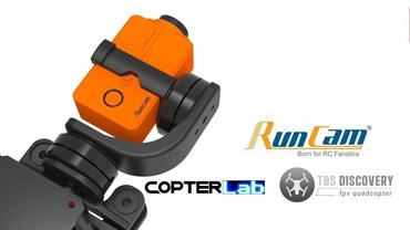 2 Axis Runcam 2 Micro Gimbal for TBS Discovery