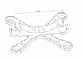 2 Axis Flir Vue Pro R Micro Gimbal