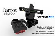 3 Axis Parrot Sequoia Gimbal