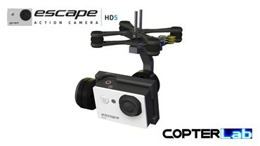 2 Axis Kitvision Escape HD5 Action Micro Gimbal