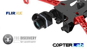 2 Axis Flir Vue Micro Gimbal for TBS Discovery