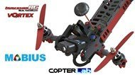 2 Axis Mobius Stabilized FPV Gimbal For Vortex 285 Mike Version