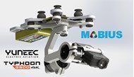 Picture of 2 Axis Mobius Stabilized Gimbal for Yuneec Q500 Typhoon