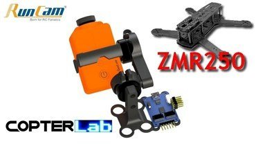 2 Axis Runcam 2 Stabilized FPV Gimbal For ZMR250