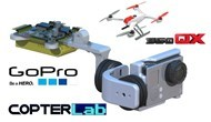2 Axis GoPro Hero Gimbal for Blade 350QX