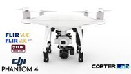 2 Axis Flir Tau 2 Thermal Camera Stabilized Gimbal For DJI Phantom 4 Professional
