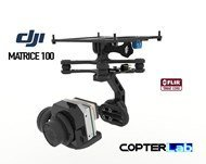 2 Axis Flir Tau 2 Stabilized Gimbal For DJI Matrice 100