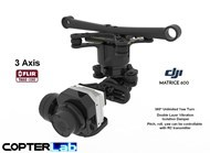 3 Axis Flir Tau 2 Stabilized Gimbal For DJI Matrice 600 Pro