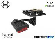 2 Axis Parrot Sequoia+ Micro NDVI Gimbal for 3DR Solo