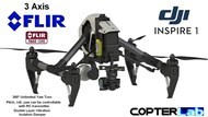 3 Axis Flir Tau 2 Stabilized Gimbal For DJI Inspire 1