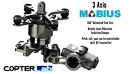 3 Axis Micro Mobius Stabilized Gimbal