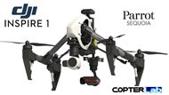 3 Axis Parrot Sequoia+ Micro NDVI Gimbal for DJI Inspire 1