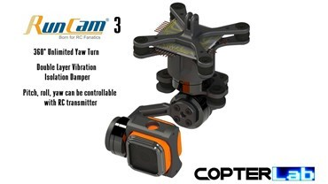 3 Axis Runcam 3 Micro Gimbal