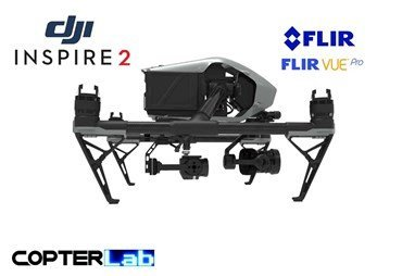 2 Axis Flir Vue Pro R Stabilized Gimbal For DJI Inspire 2