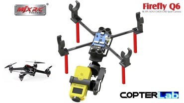 2 Axis Nano Gimbal Firefly Q6 Camera For MJX Bugs 2C 2W