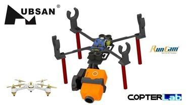 2 Axis Runcam 2 Nano Gimbal for Hubsan FPV X4 H501A