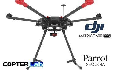 2 Axis Parrot Sequoia+ Micro NDVI Gimbal for DJI Matrice 600 M600 pro