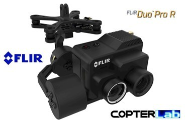 2 Axis Flir Duo Pro R Micro Gimbal