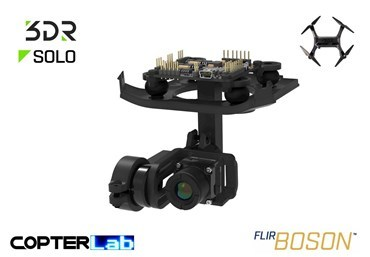2 Axis Flir Boson Stabilized Gimbal for 3DR Solo