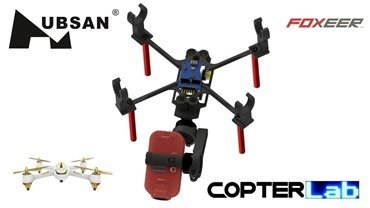 2 Axis Foxeer Legend 2 Nano Gimbal for Hubsan FPV X4 H501A