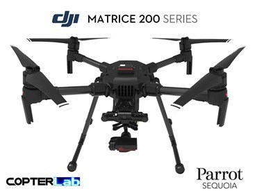2 Axis Parrot Sequoia Stabilized Gimbal for DJI Matrice 200 M200