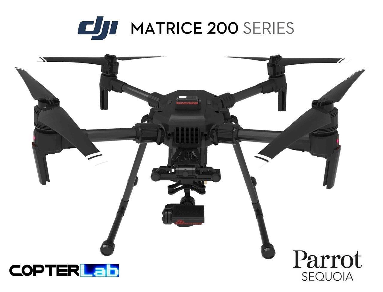 2 Axis Parrot Sequoia+Micro NDVI Skyport Gimbal for DJI Matrice 210 M210