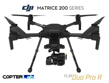 2 Axis Flir Duo Pro R Stabilized Gimbal for DJI Matrice 200 M200