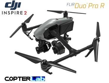2 Axis Flir Duo Pro R Micro Gimbal for DJI Inspire 2