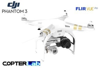 2 Axis Flir Vue Pro R Micro Gimbal for DJI Phantom 3 Professional