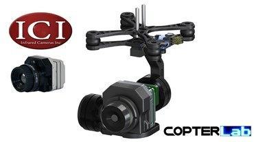 2 Axis ICI (Infrared Camera Inc) 8320 Micro Gimbal