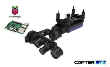 2 Axis Raspberry Pi Picamera 5MP Night Vision Nano Gimbal