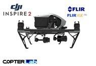 2 Axis Flir Vue Pro Stabilized Gimbal For DJI Inspire 2