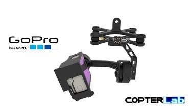 2 Axis GoPro Hero 2 Micro Gimbal