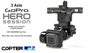 3 Axis GoPro Hero 4 Session Micro Gimbal
