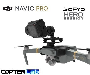 2 Axis GoPro Hero 4 Session Nano Gimbal for DJI Mavic Pro