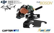 Flir Boson + Runcam Night Eagle 2 Pro Integration Mount Kit for DJI Mavic 2 Enterprise