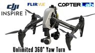 3 Axis Flir Vue Pro R Micro Gimbal for DJI Inspire 1