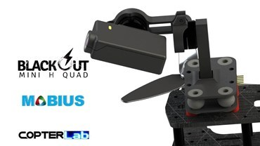 2 Axis Mobius Mini Nano Gimbal for Blackout Mini H
