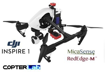 2 Axis Micasense RedEdge-M Micro NDVI Gimbal for DJI Inspire 1