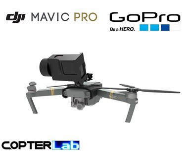 2 Axis GoPro Hero 2 Nano Gimbal for DJI Mavic Pro